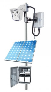 Solar Powered Wireless Camera System